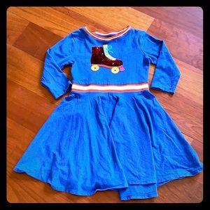 Mini Boden Roller Skate Flip Sequin Dress